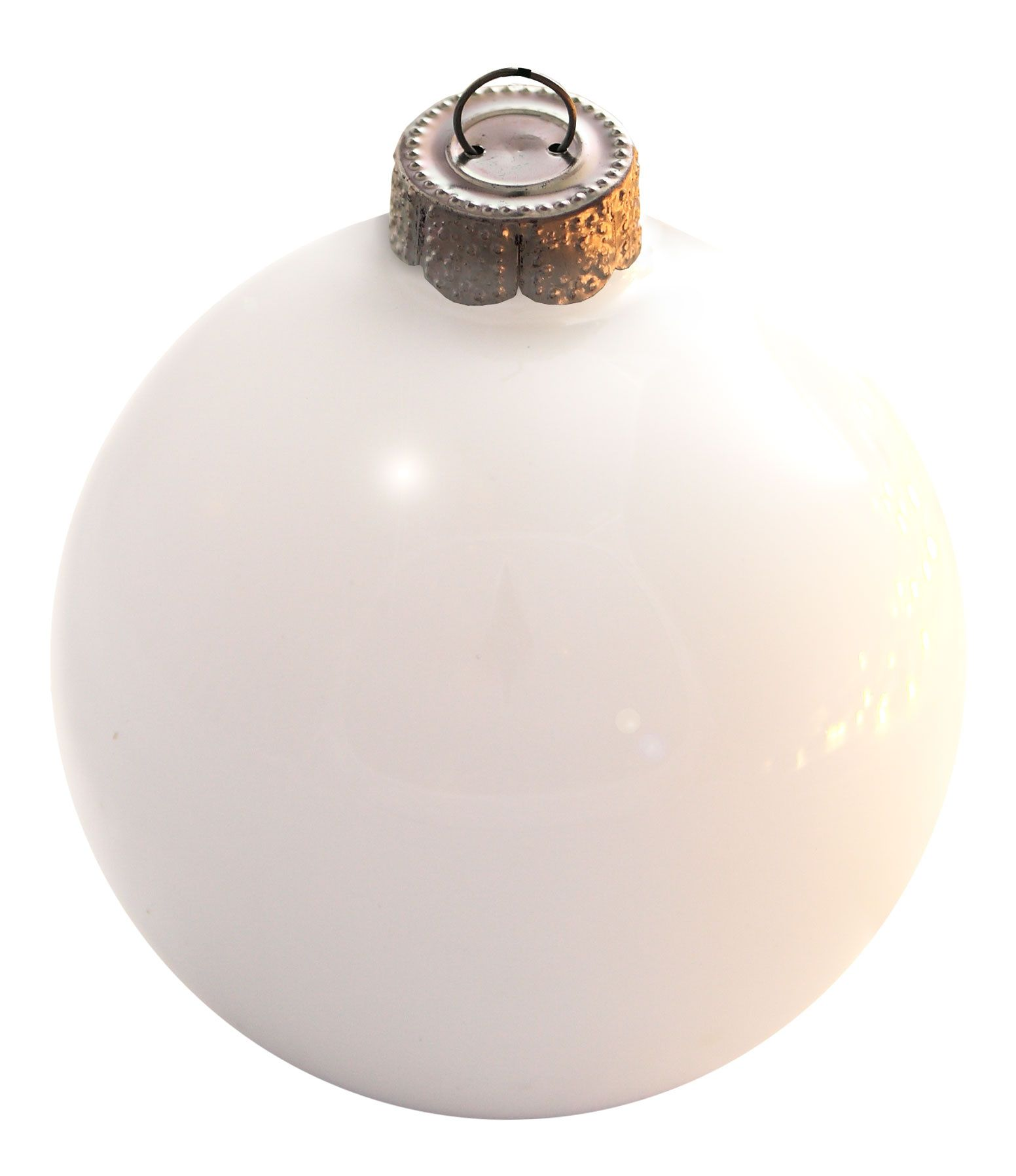 White Glass Ball Christmas Ornament Christmas Lights Etc Christmas Ornaments Glass Ball Ornaments Glass Bauble