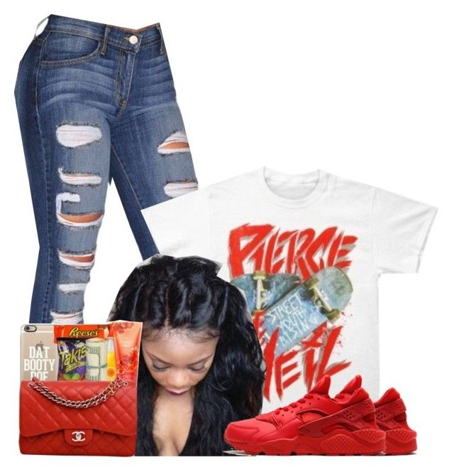 Untitled #1439 by bubblesthegr8t ❤ liked on Polyvore featuring NIKE