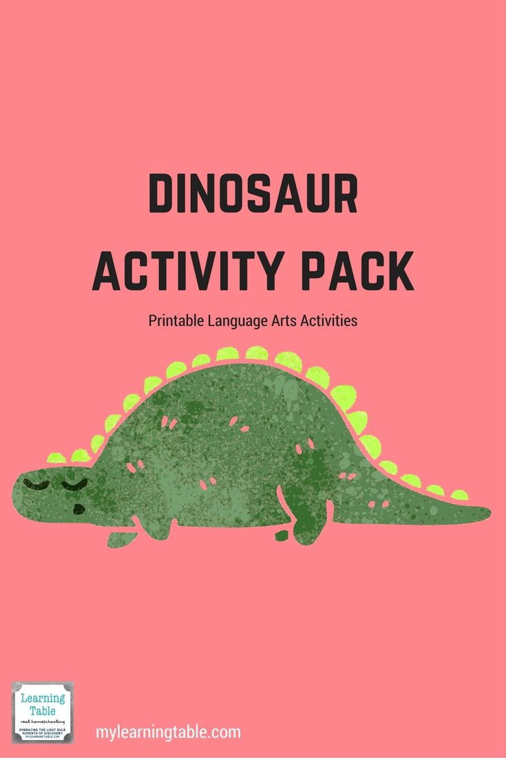 Dinosaur Activity Pack | Writing prompts, Prompts and Activities