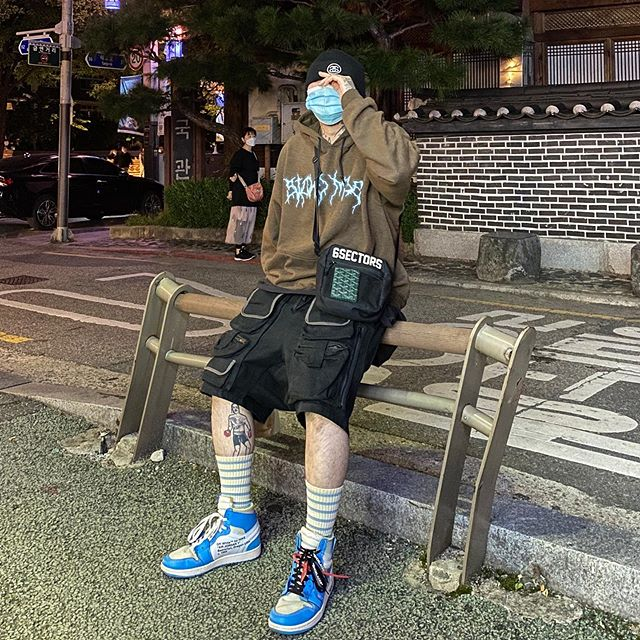 Tlc Street Wear Outfit Truelovec1ub Instagram Photos And Videos Wearing Clothes Street Wear Military Jacket