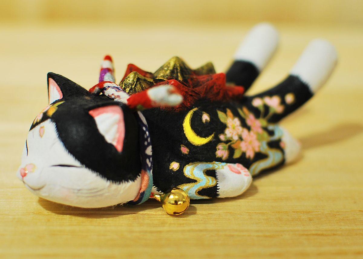 Custom Sleeping Negora 手工改造睡眠喵吉拉 No. 01 - Kaiju Paradise 2015