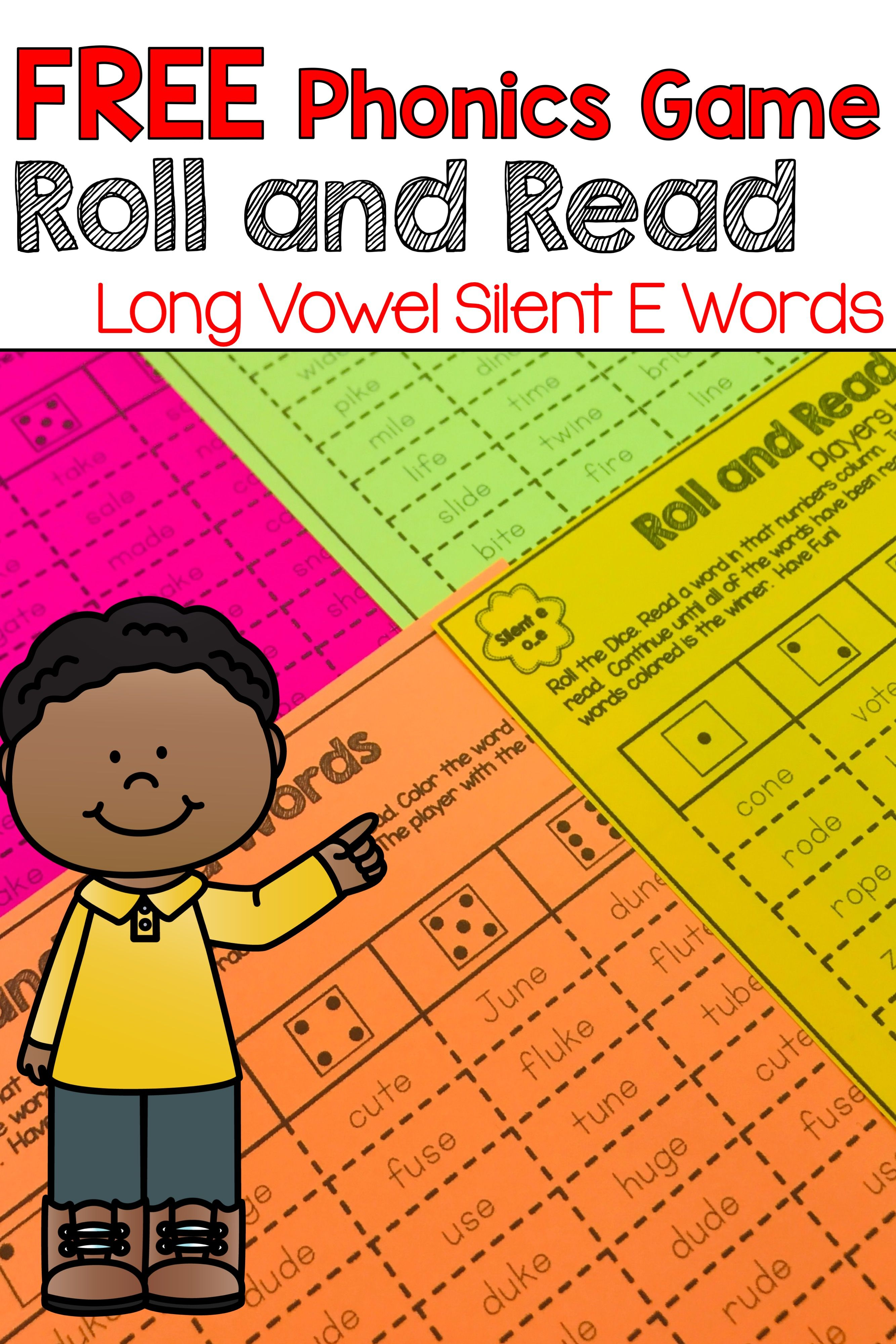 This NO PREP, Printable, FREE Phonics game will have your