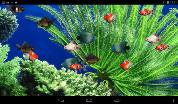 Aquarium Live Wallpaper For Android App Free Download Dengan