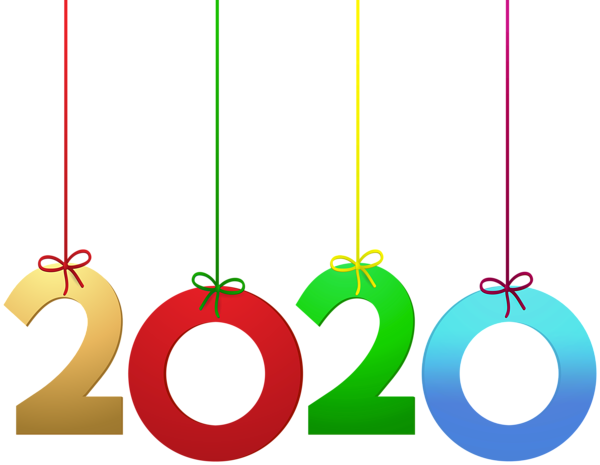 2020 Hanging Decoration Png Clip Art Image Free Clip Art Happy New Year Png Clip Art