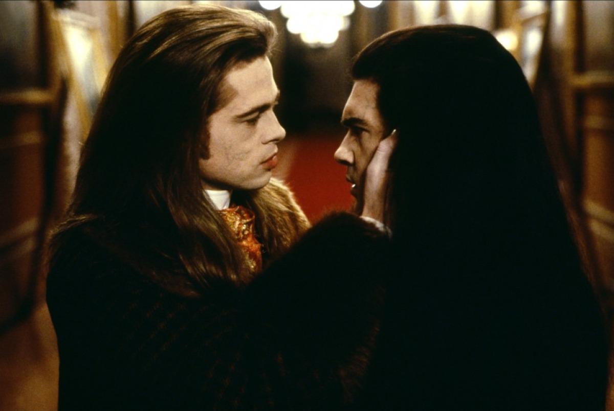 Brad Pitt And Antonio Banderas Interview With The Vampire The Vampire Chronicles Brad Pitt