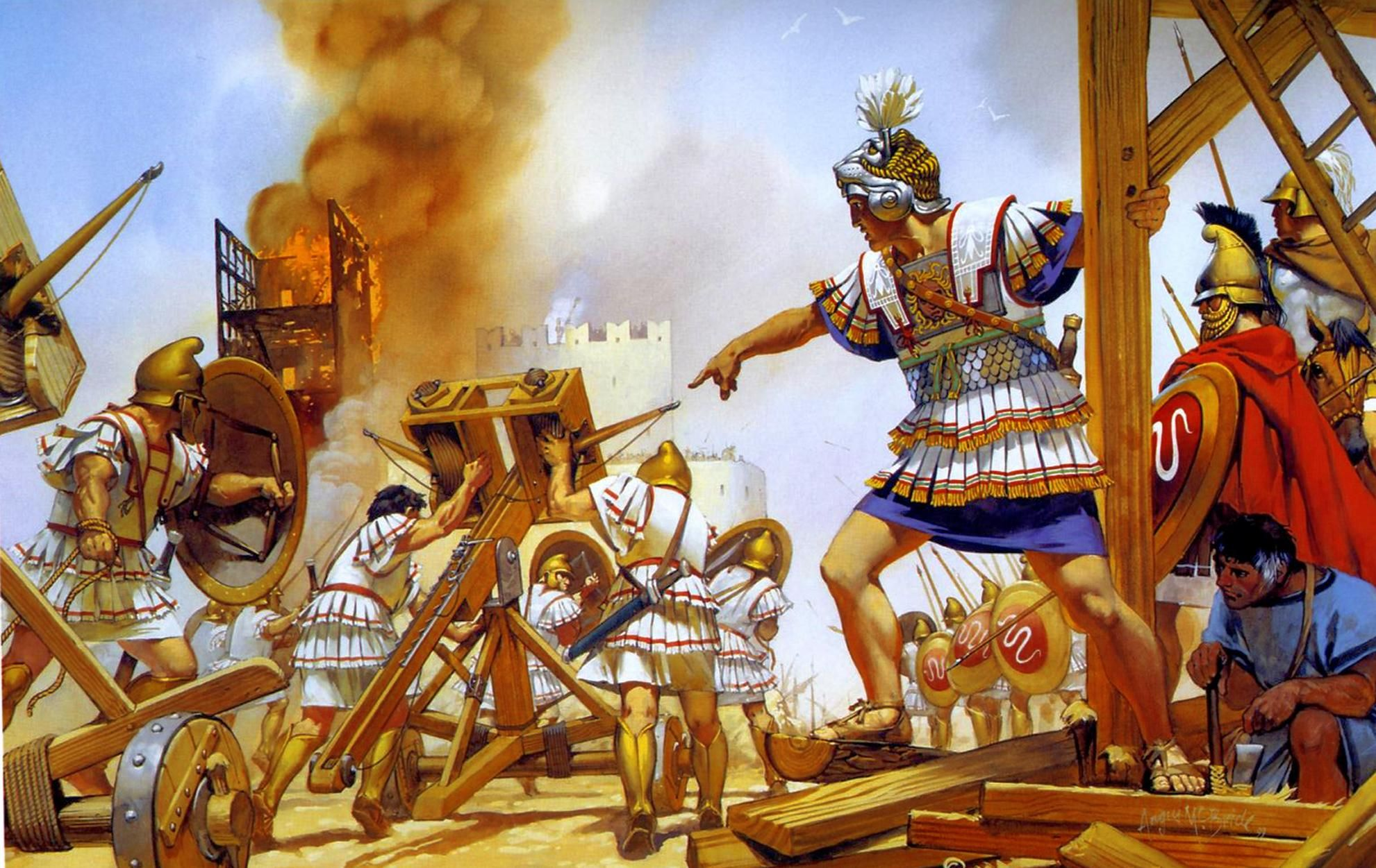 10 Things You Should Know About The Achaemenid Persian Empire: Roman Army Battering Ram - Google Search