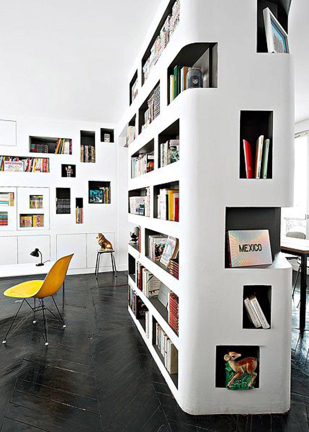 biblioth que design nos plus belles inspirations. Black Bedroom Furniture Sets. Home Design Ideas