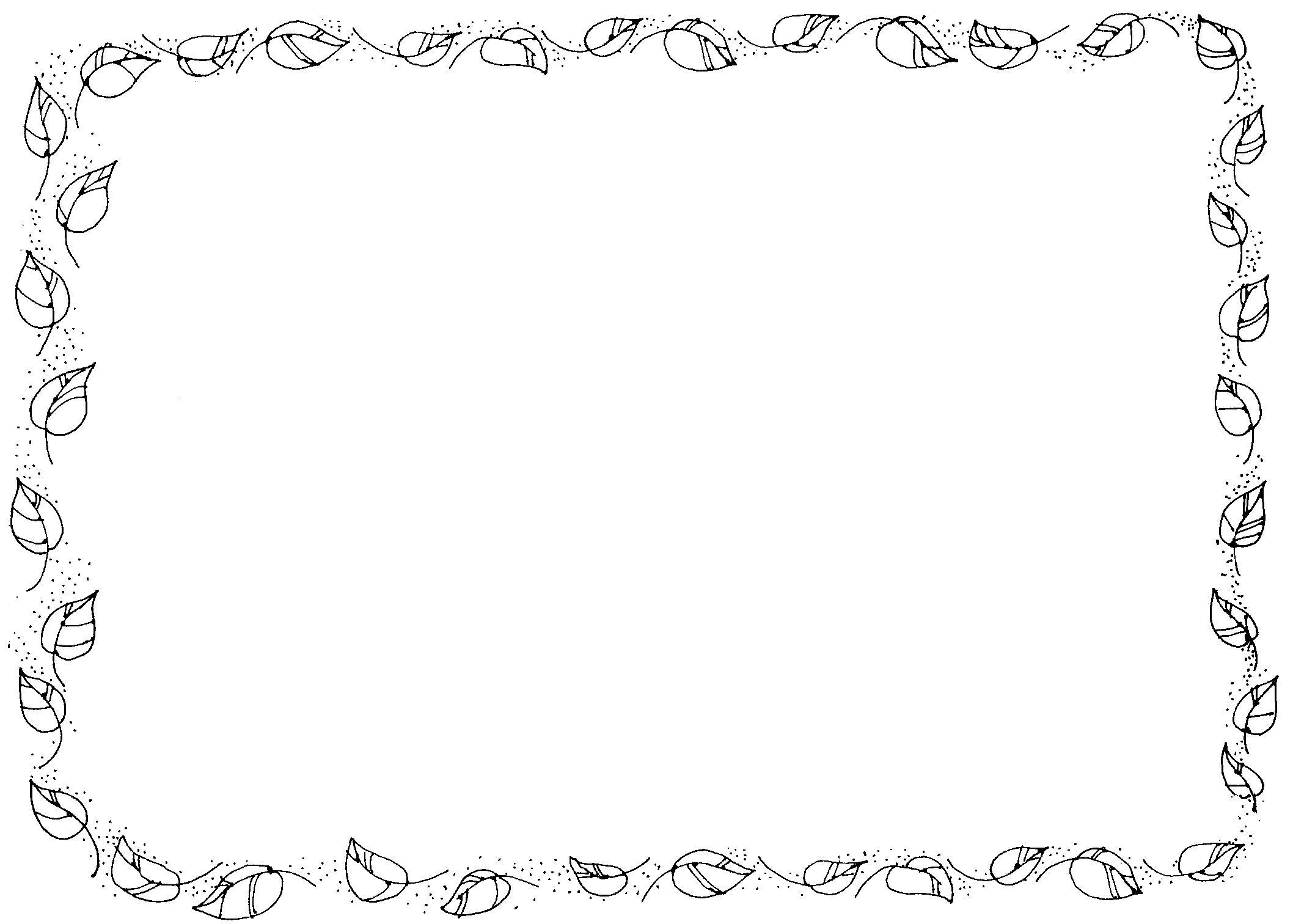 Clipartsgram Image 1392486824 Cgborder Leaf 1
