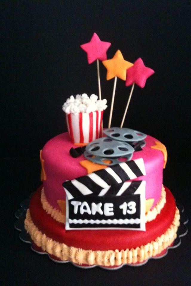 Moviethemed Birthday Cake My Cakes Pinterest Birthday Cakes - Movie themed birthday cake