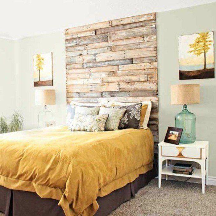 la t te de lit originale en 46 photos pinterest tete de lit alinea lit alinea et dans la. Black Bedroom Furniture Sets. Home Design Ideas