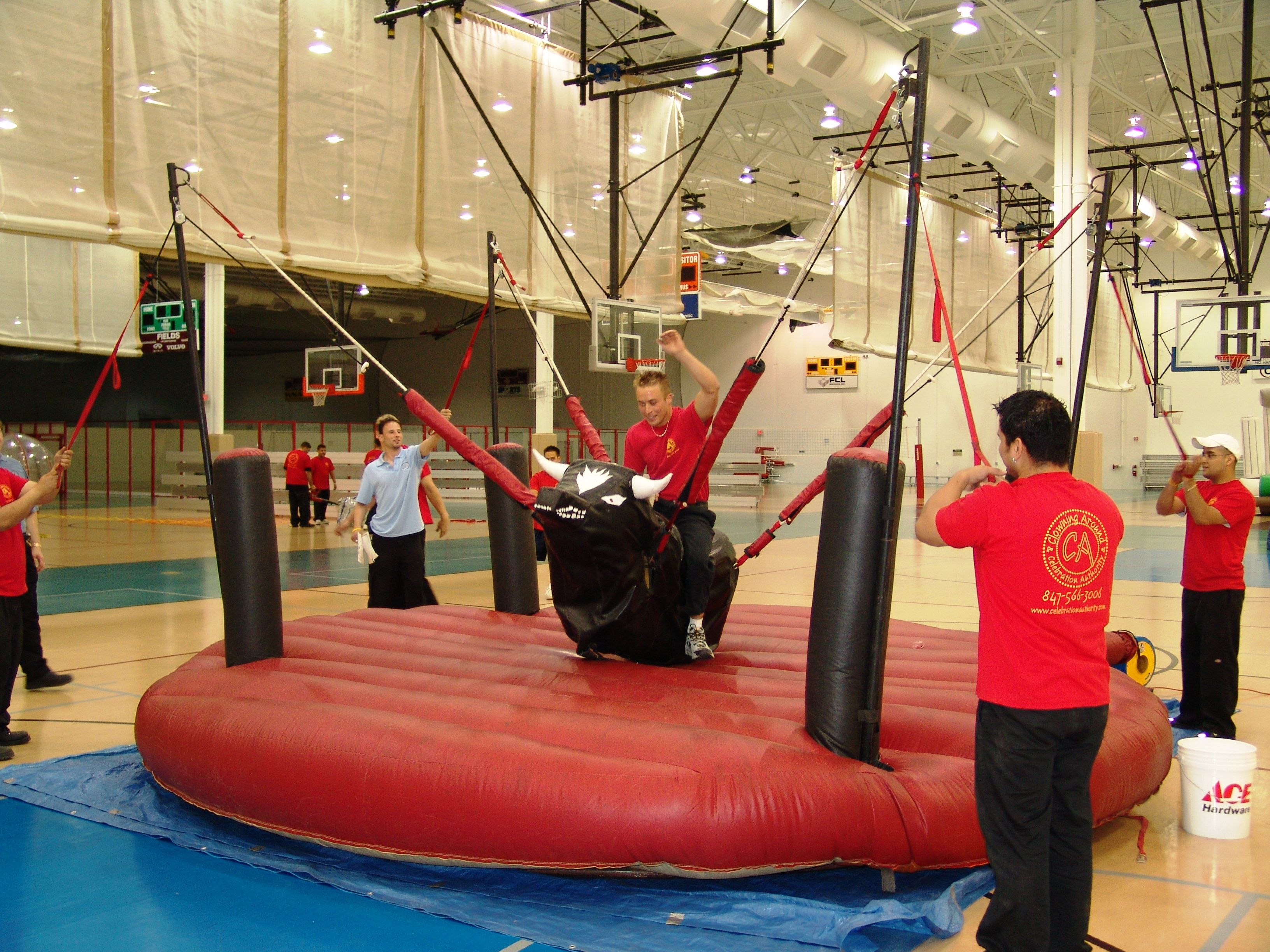 Bungee bull chicago party rentals inflatable rentals