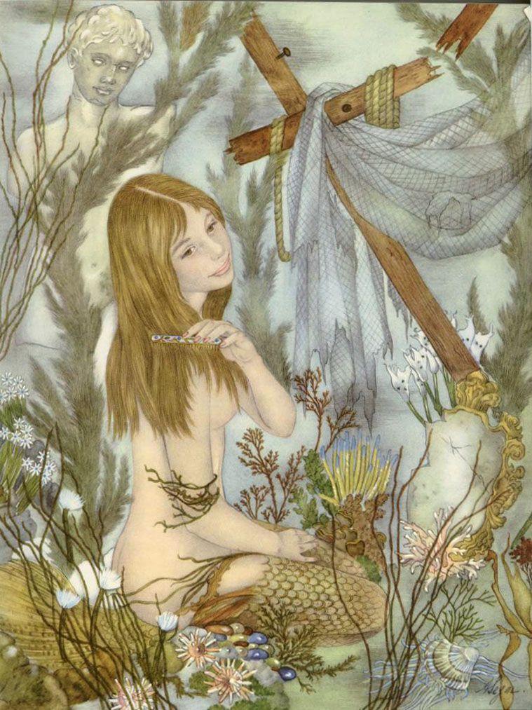 Undine Beneath the Sea  Ib and Christine  Adrienne Segur illustration