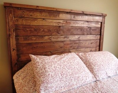 Queen Rustic Distressed Wood Headboard Made To Order By 3littledragonflies