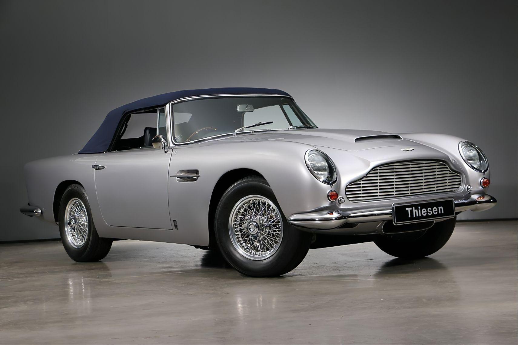 1965 Aston Martin Db5 Convertible Sportwagen Sport