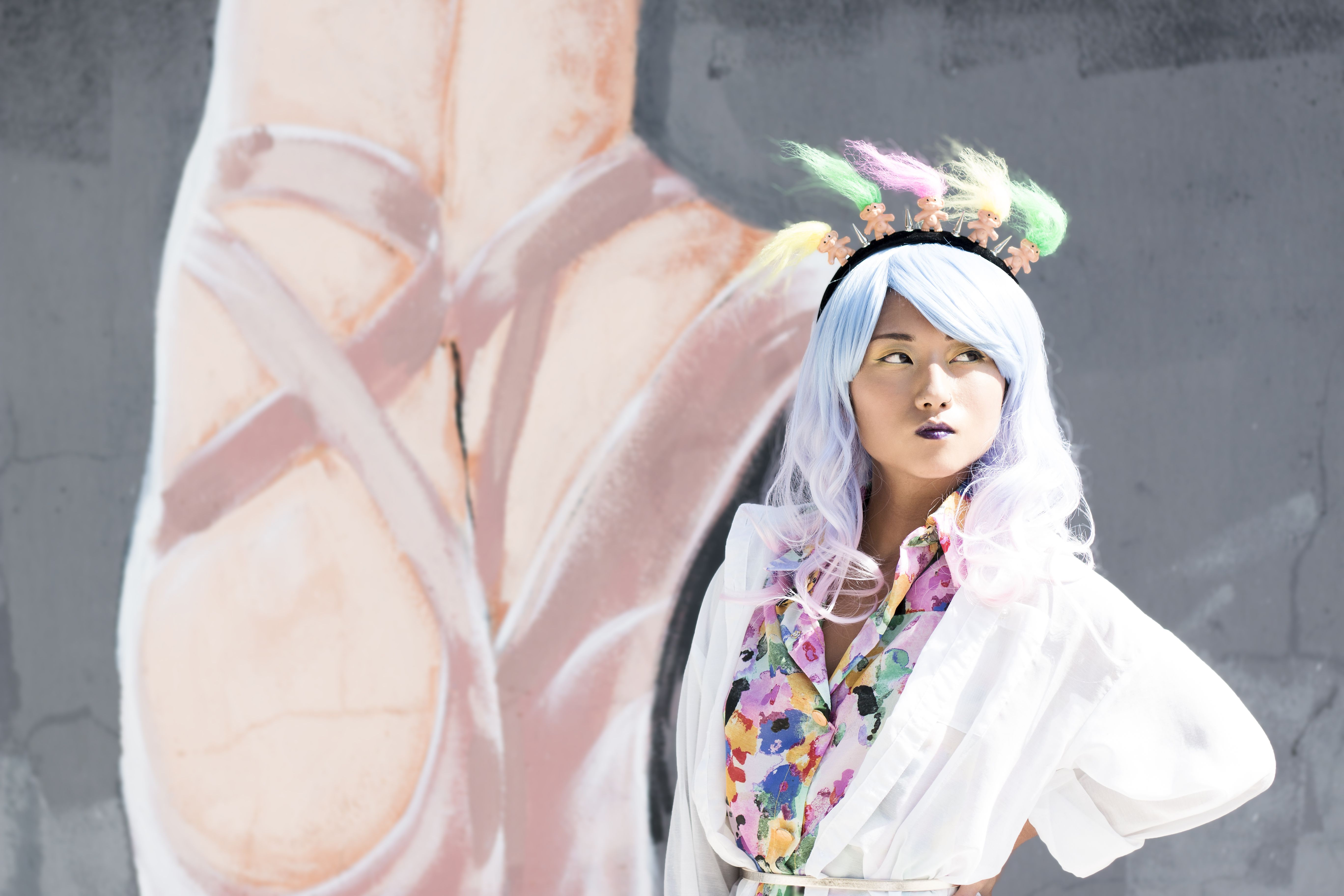 wild we clothing #wild #style #street #fashion #pastel #color #pink #asian