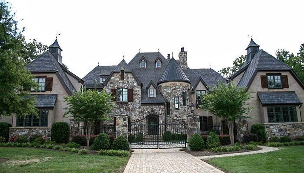 Plan 17751lv Grand French Country Chateau In 2020 Luxury House