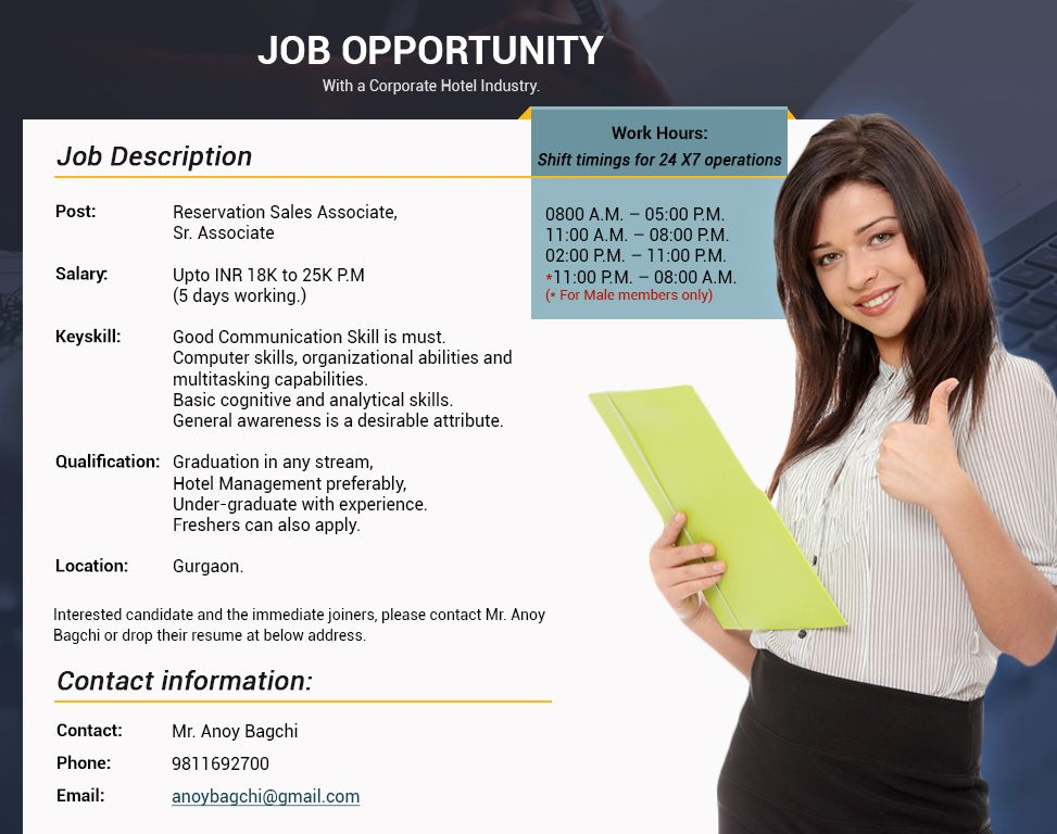 Job Title Reservation Sales Associate Job Description - A - store associate job description