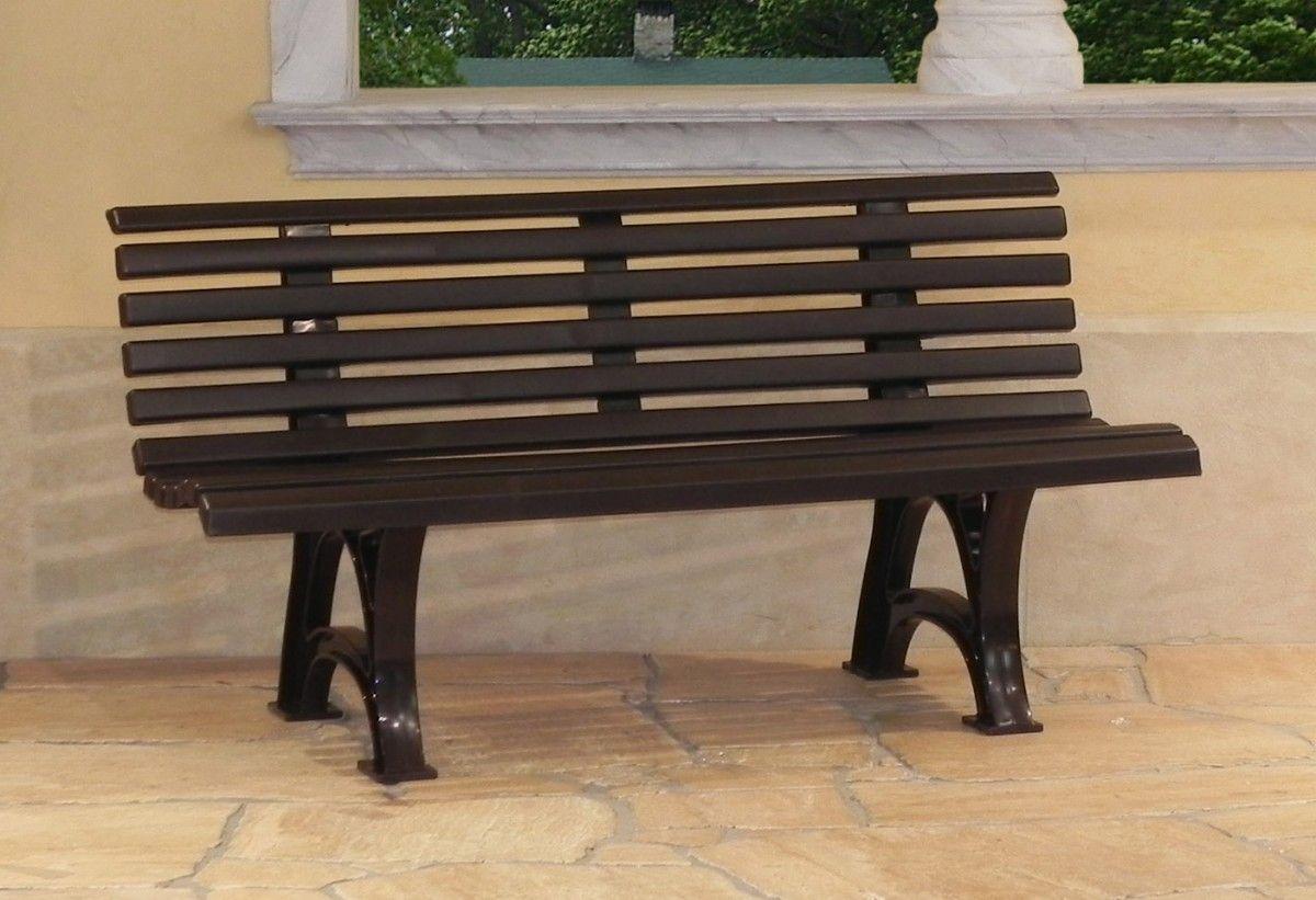 Gartenbank Kunststoff Design Schaeoenbrunn 150 Cm Braun Gartenbank Bank Design