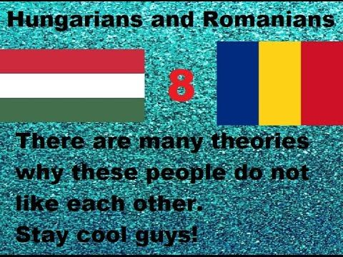 Top 10 European Nations Who Do Not Like Each Other