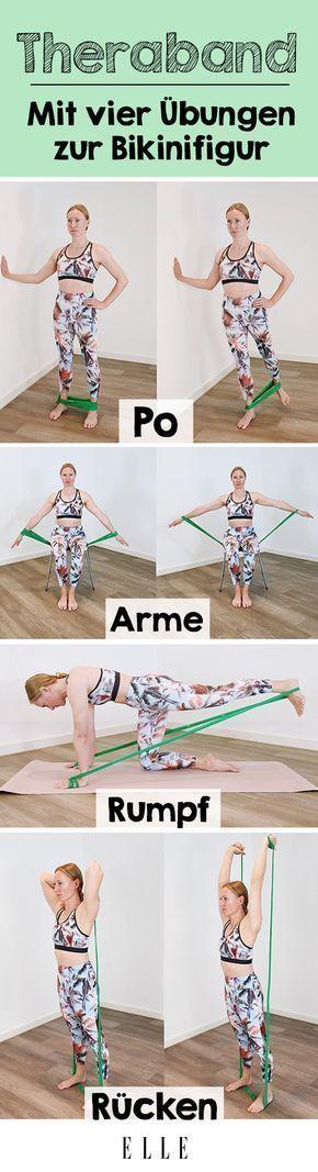 #deinen #Diese #komplett #Körper #TherabandÜbungen #verändern #weight training workouts #werden Wer...