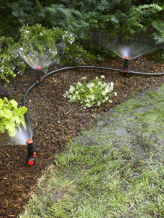Above Ground Irrigation Systems for Landscaping | DIY ... on