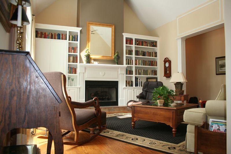Built Ins Fireplace Built Ins Living Dining Room Fireplace Bookshelves