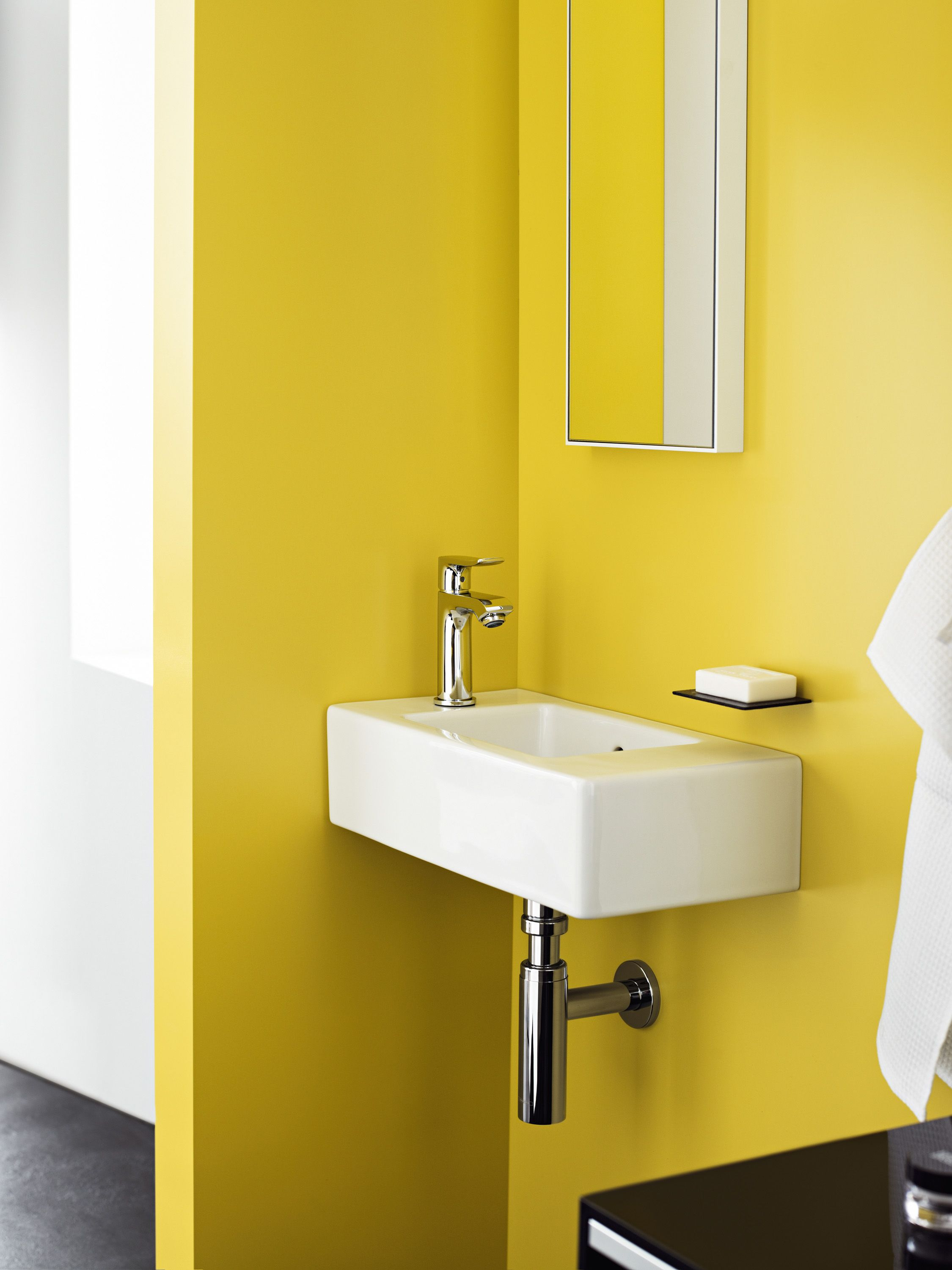 Metris mixers Comfort, at all levels – for space in the bathroom ...