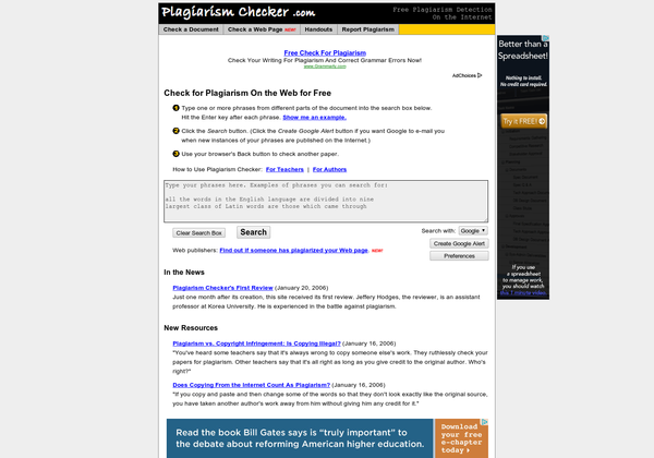 Http Plagiarismchecker Com Via Url2pin Check For Plagiarism On The Web Free Study Tools Word Doc Checker
