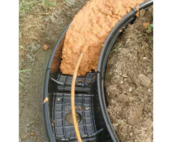 How To Do Poured Concrete Border I Kinda Like This Idea Tom I - Diy concrete garden edging