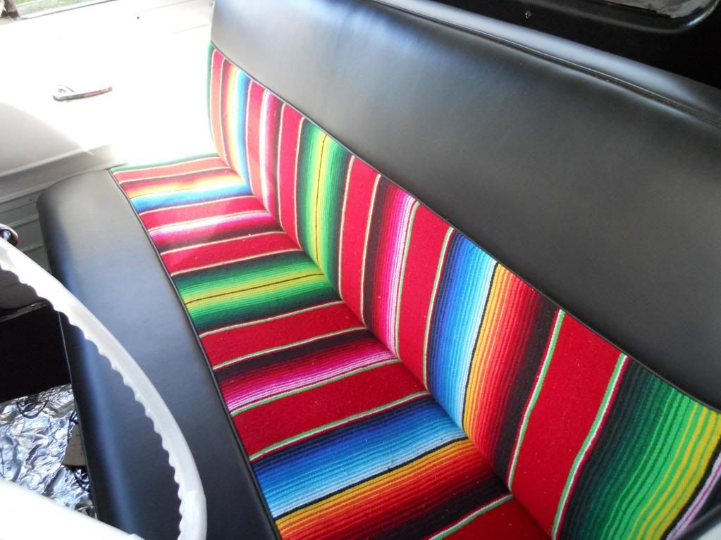 Mexican Blanket Seat Cover Refined Dream Truck