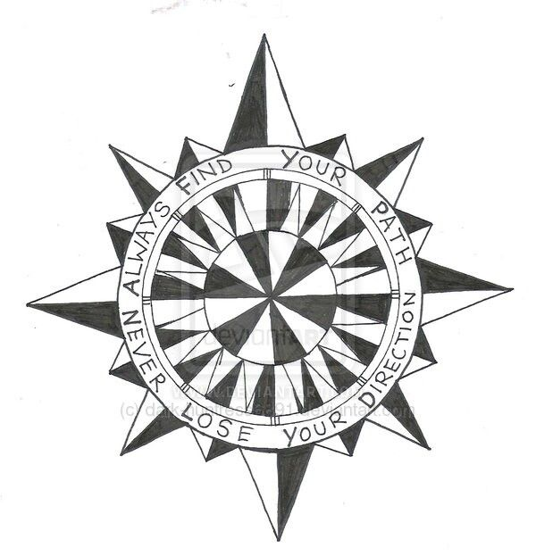 Compass quote Drawings, Vintage compass, Inspirational