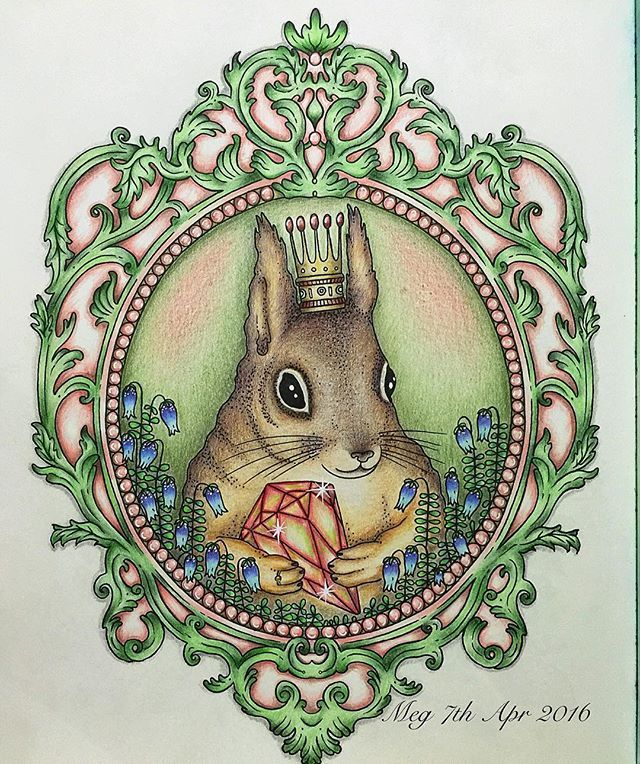 My Squirrel King Done Used Prisma And Polychromos