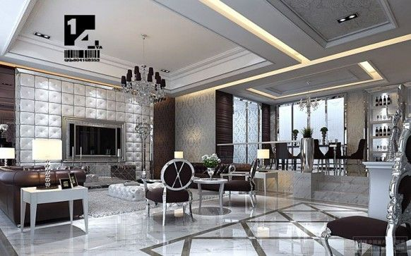 Modern Chinese Interior Design With Images Luxury Living Room