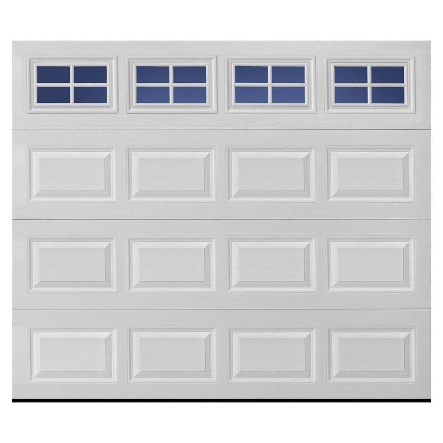 Shop Pella Traditional Series 9 Ft X 7 Ft Insulated White Garage