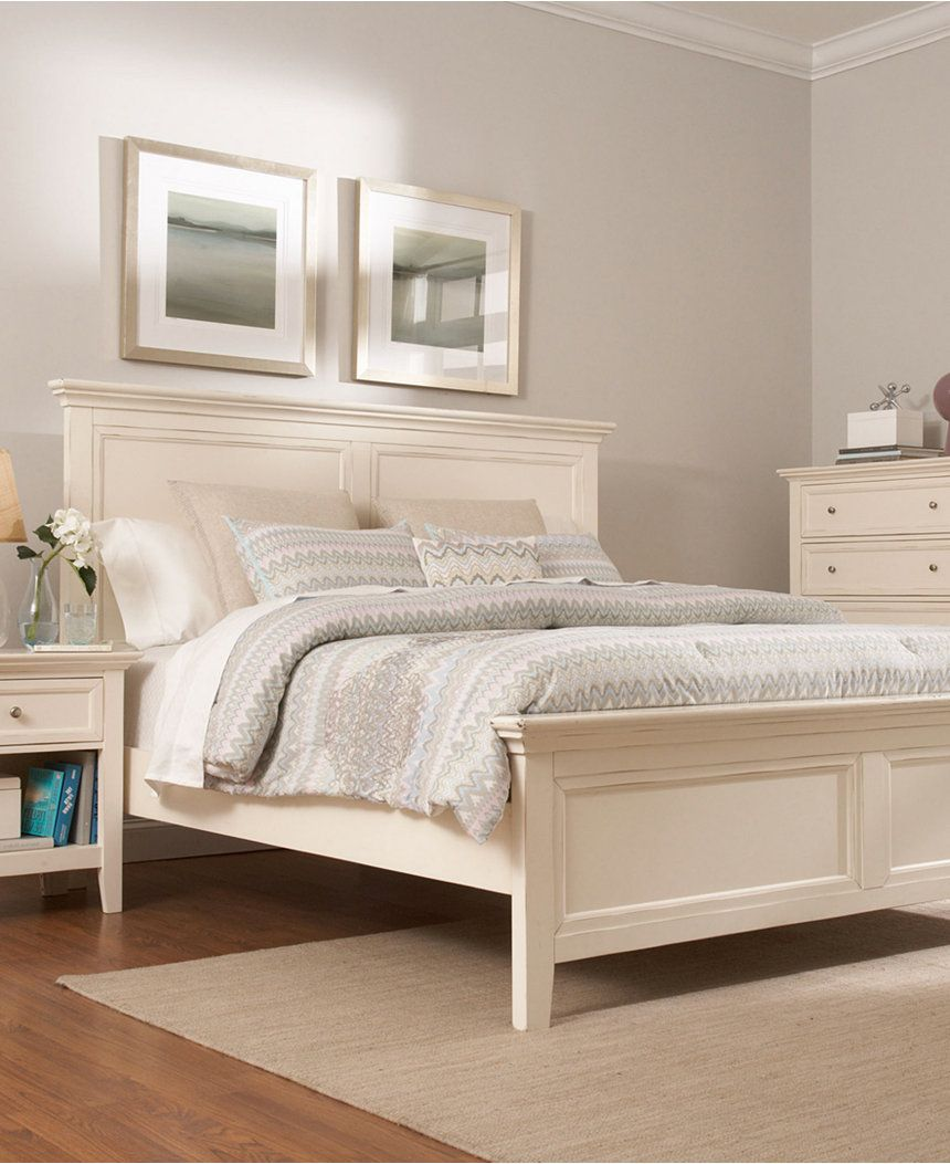 Sanibel King Bed, Created for Macy\'s | Bed headboards, King beds and ...