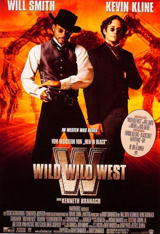 Filmplakat Wild Wild West 1999 Filmplakate Alte Filmposter Filme