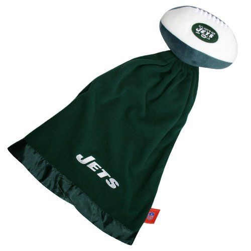 ae71c55bb New York Jets NFL Baby Security Blanket w  Snuggle Ball by Coed Sportswear.   18.88