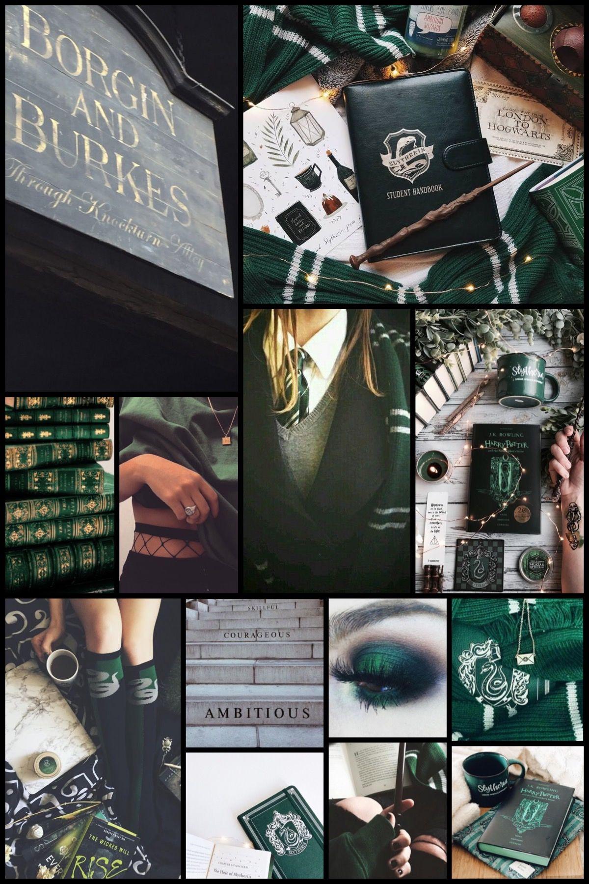 Slytherin Aesthetic Slytherin Aesthetic Slytherin Iphone Wallpaper