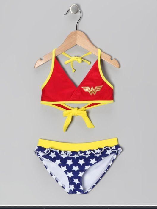 Toddler Wonder Woman Bathing Suit Tali Town Pinterest Kids