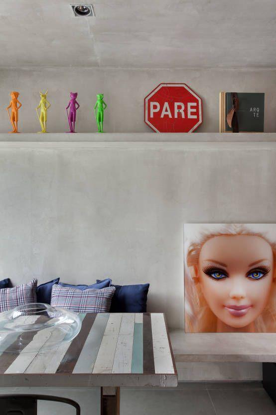 Salas de estar industriais por Studio ro+ca