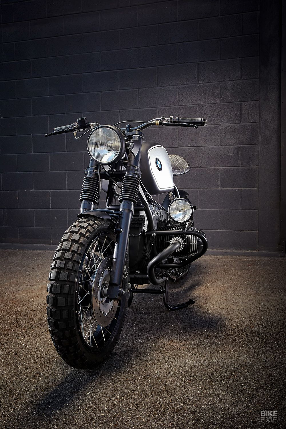 Euro Style Down Under Ellaspede S Bmw R100r In 2020 Cafe Racer