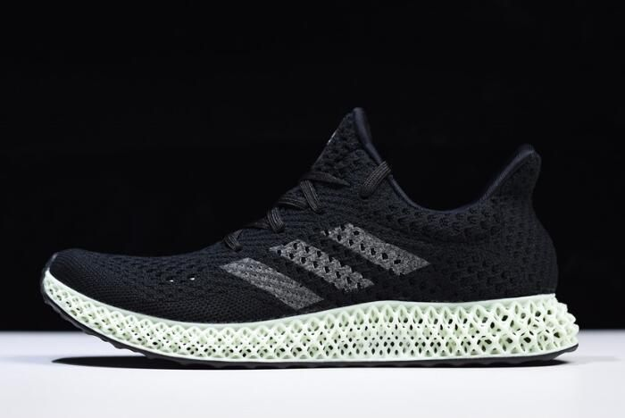buy online a591c 42980 adidas FutureCraft 4D Core BlackAsh Green B75942