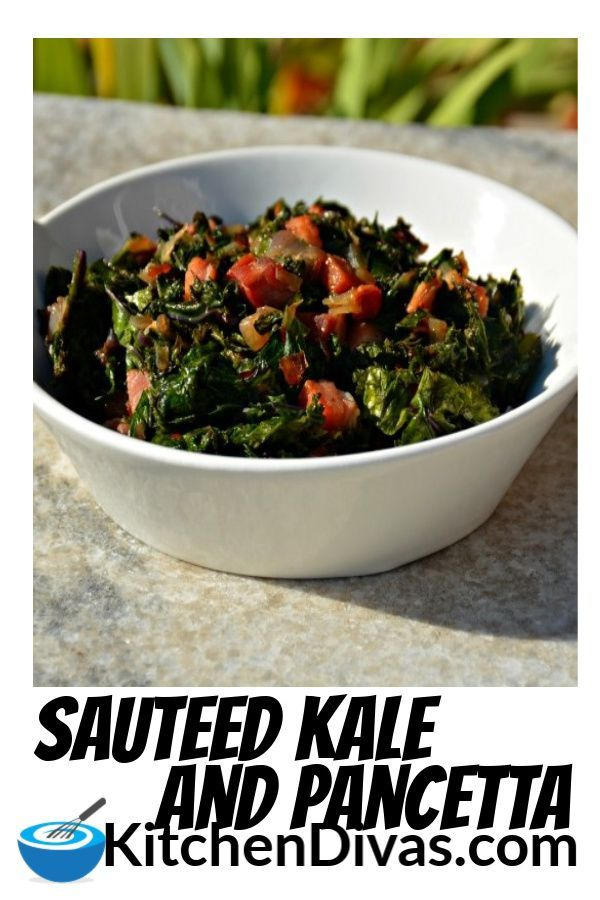 Sautéed Greens and Bacon Sautéed Greens and Bacon is so easy to prepare. Whether you use spinach, swiss chard or kale or bacon, ham or pancetta, this dish never disappoints.