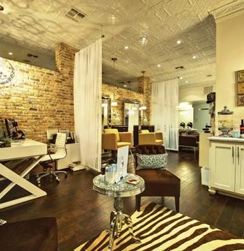 Salon of distinction luxe a boutique salon salon today for A little luxury beauty salon