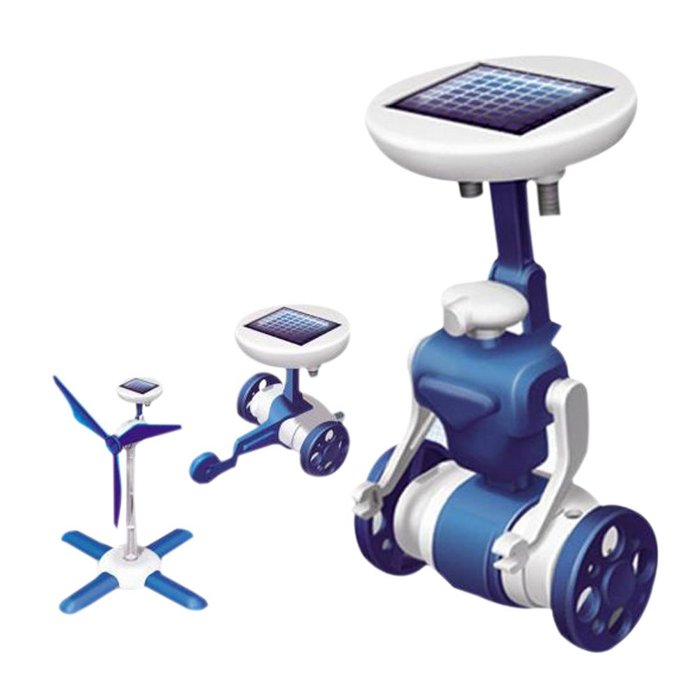 6 in 1 solar toy educational diy robots kit solar