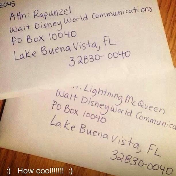 What A Fabulous Idea Write A Letter To Your Favorite Disney