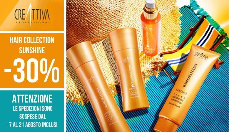 hc sunshine -30% > SUMMER SALE Creattiva Professional  approfittane subito:   www.creattivaprofessional.com