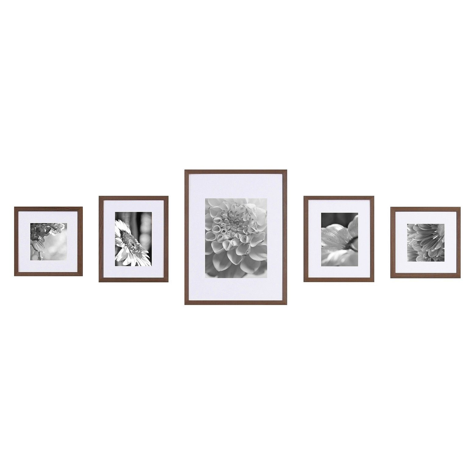 Gallery Perfect 5 Piece Frame Kit Instantly Create The Perfect Wall