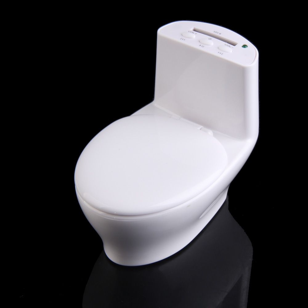 Cheap Speakers, Buy Directly from China Suppliers:                         2014 Hot Sell New White Portable Mini Rechargeable Speaker Toilet Shaped for iPhone PC 1STL