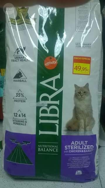 Pienso Para Gatos Esterilizados De 15 Kilos Precio 49 95 Gran